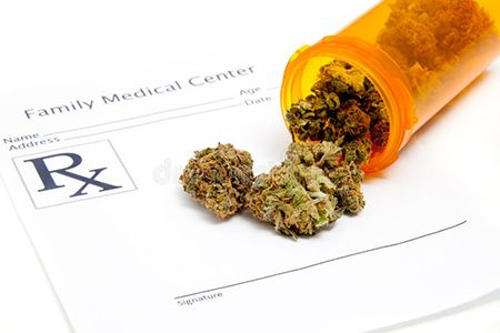 медицинские записи и марихуана