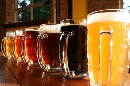различные сорта пива