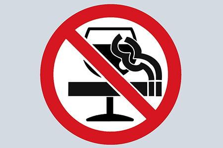 алкоголь и сигареты под знаком запрета
