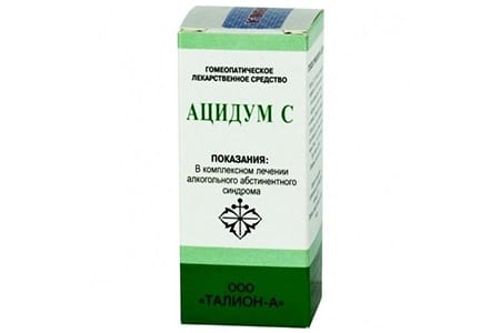 препарат Ацидум