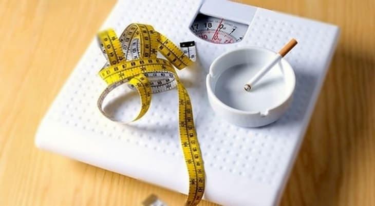 Курение может влиять на вес курящего человека