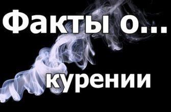 О курении распространяется множество мифов