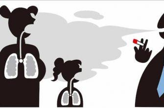 Пассивное курение вредно не менее обычного