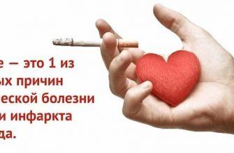 После инфаркта курить строго запрещено